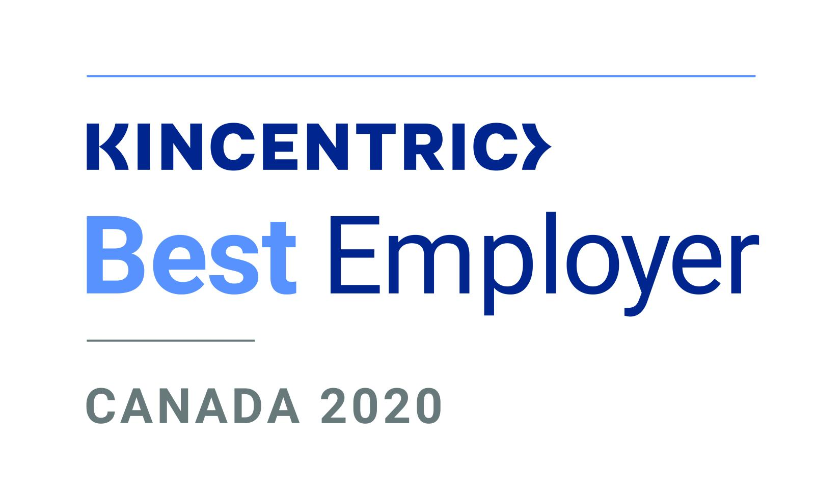 Kincentric Best Employers Canada 2020