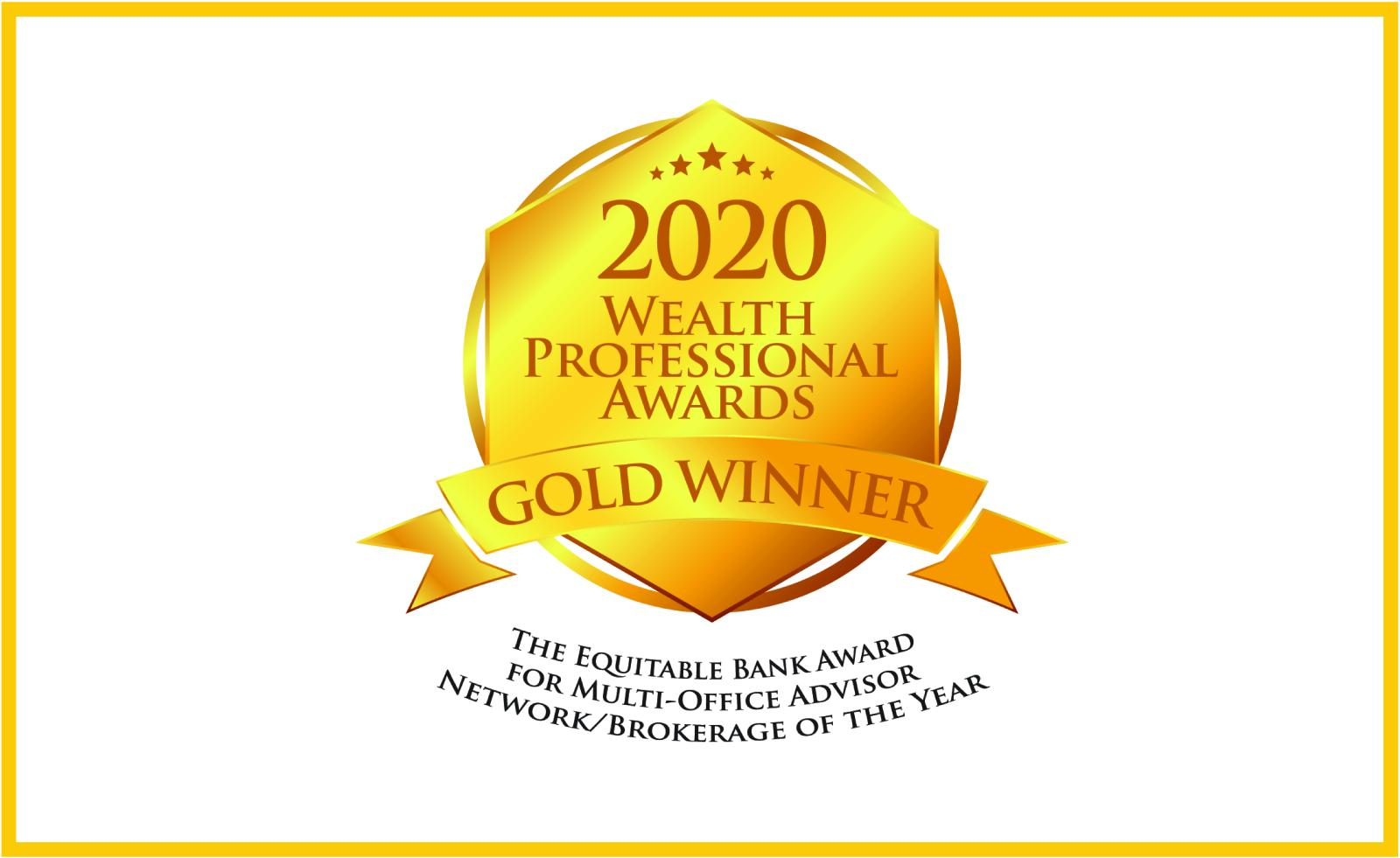 Wealth Professional Award, 2020